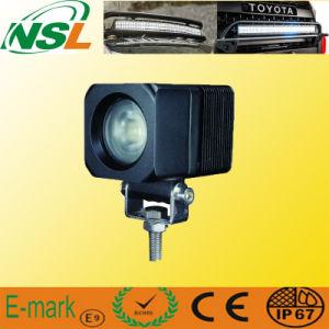 """Lumière de travail du lumen LED de la place 900 de 10W 9-32V du CREE 2 """", lumière de brouillard motrice tous terrains de voitures de LED, lumineux superbe"""