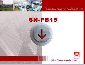 Messingdrucktaste (SN-PB15)