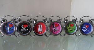 Mini horloge d'alarme de cadeau promotionnel