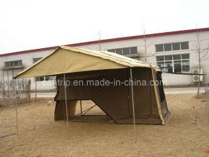 يستعصي أرضية مقطورة خيمة -- ملحق مزدوجة
