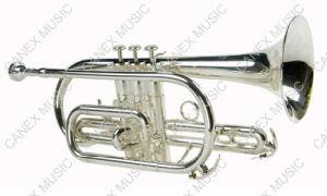 Cornet de qualité supérieur (CO-255S)/cornet instrument en laiton