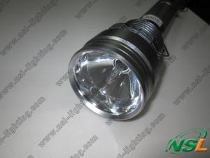 lampe-torche campante CACHÉE rechargeable en aluminium puissante de torche de police de chasse du xénon 85W