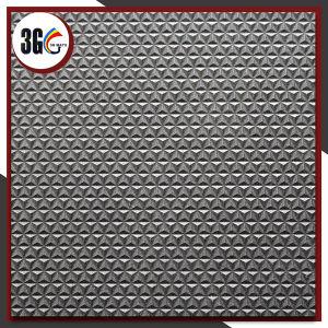 couvre-tapis chaud de bobine de PVC des ventes 3G avec le support de diamant (3G-Diamond) avec le prix meilleur marché