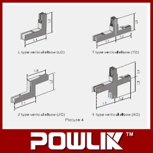 Alta qualidade Elbow para Power Busbar Trunking