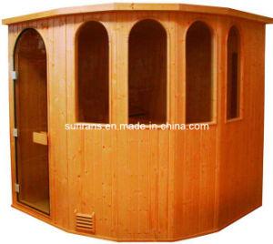 Cabine van de Douche van de Zaal van de Sauna van het Huishouden van de luxe de Verre Infrarode (SR112)