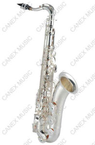 Banhado a Prata Saxofone / Saxofone Tenor (SAT-S) / Saxofone