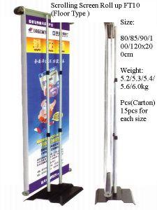 A tela do desdobramento rola acima Stander (FT-EA-)