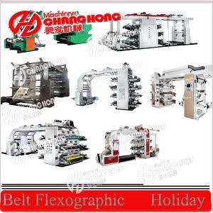 4 colores de impresión flexográfica Máquina (CH884)