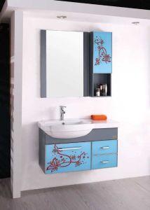 浴室用キャビネット/PVCの浴室用キャビネット(W-115)