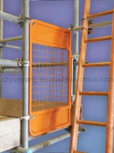 Porta de acesso de fecho automático da escada