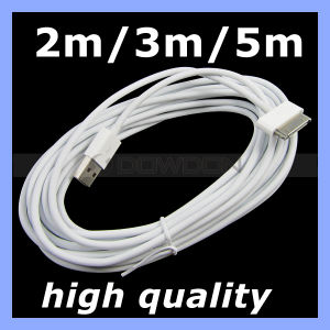 Langes Charger 2m/3m/5m Cable für iPhone 4 iPad 4s iPod