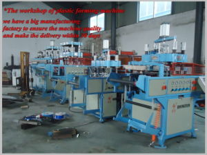Fully Automatic Plastic Termoformagem com Stacker (HY-510580)