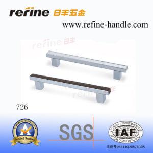 Poignée de Cabinet de matériel de meubles en aluminium (L-726)