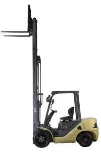 U Series Capacity 3000kg 3.0t Diesel Forklift van de V.N.