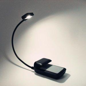Miniflexible LED-Buch-Licht-Vorhängerleselampe