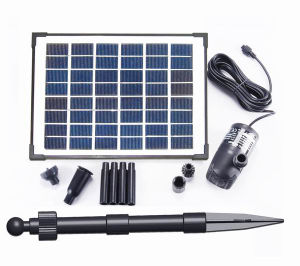 Fountainのための8W Solar Brushless Pump Kit
