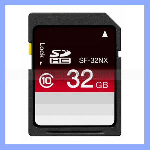 Bewegliches Mini Hard Disk 32GB Limit 10MB/S max 95MB/S Professinal Sd Card