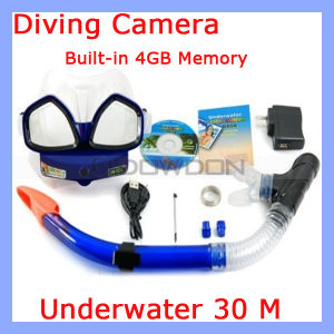 720p Diving Scuba Diving Camera mit 4GB Memory, Under Water Diving Camera (Camera-312)