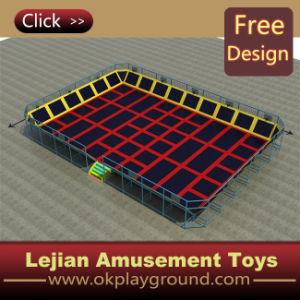 CE populaire de haute qualité Eight Bed Trampoline (TP1201-4)