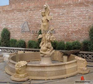 granito mrmol escultura de piedra del jardn del agua de la fuente para la decoracin