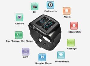 Technologie ips écran gsm bluetooth montre smart watch mobile