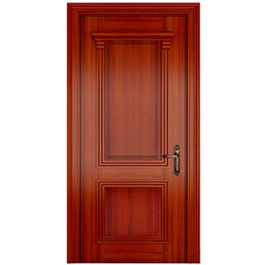 Cherry modern wooden door for house decoration cherry for Porte de chambre en bois