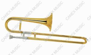 Trompette d'instruments en laiton/trompette de glissière (STR-800L)