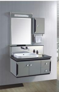 新しいデザインPVC浴室用キャビネットの浴室の虚栄心(355)