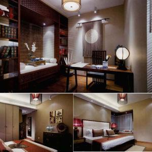 Ensemble de chambre à coucher antique de meubles d'hôtel de conception (EMT-SKA07)