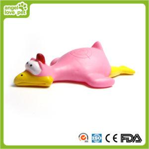 Huhn-und Ente-Ziel, das Spielzeug-Hundehaustier-Spielzeug klingt