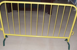 Galvanisiert oder PVC Coated Crowd Control Barrier Temporary Fence