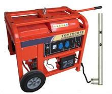 высокая эффективность Home Use Portable LPG Generator 7.0 kVA