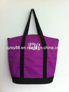 Mantenga exterior de poliéster fresca Almuerzo Cooler Bag