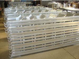 Chelle de structure en acier galvanis creux chaud for Escalier galvanise prix