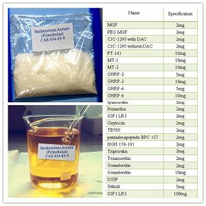 Acétate stéroïde 200mg/Ml de Methenolone de poudres ou de pétroles de Primobolan