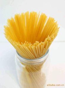Fabrication du spaghetti