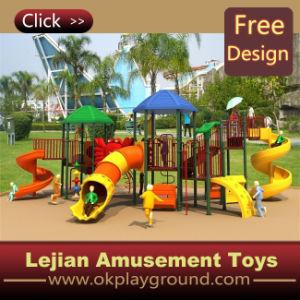 Équipement extérieur d'amusement de cour de jeu d'enfants joyeux de la CE (12039A)
