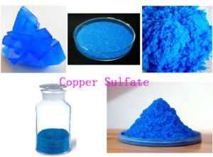 Sulfato de cobre para frutales
