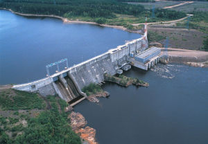 Завод гидроэлектроэнергии, турбина гидроэлектроэнергии, генератор гидроэлектроэнергии