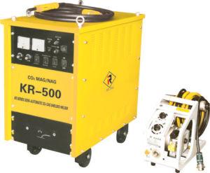 Máquina de soldadura protegida do CO2 do Kr gás semiautomático (KR-350/500)