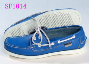 Fashion 100% Genuine Leather Boat Shoes