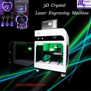 Cristal Cadeau 3D, Cosmetic Laser Inner machine de gravure