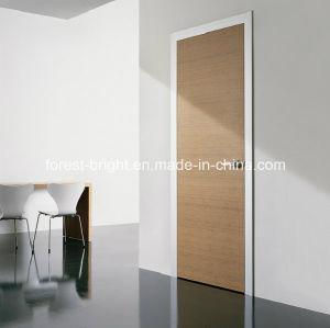 porte d 39 oscillation en bois moderne avec des poign es. Black Bedroom Furniture Sets. Home Design Ideas