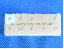 Appuyer Needle avec Single Brown Surgical Plaster (A-20A)