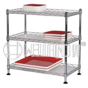 cr maill re en acier r glable d 39 tag re de fil de cuisine de diy mini pour la nourriture. Black Bedroom Furniture Sets. Home Design Ideas