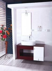 浴室の虚栄心PVC浴室用キャビネット(2080年)