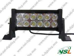 "7 ""Lumière 36W travail de LED, CREE LED Light Bar de voiture 4x4, 12V 24V LED Light Bar Flood hors-route"