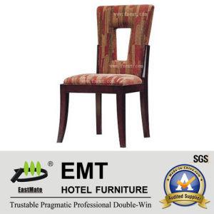 Seule chaise de banquet de chaise d'hôtel de dossier de conception (EMT-HC21)