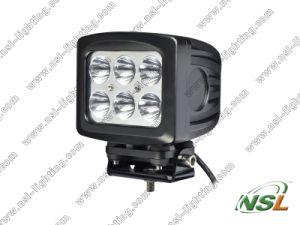 5 CREE de pouce 6PCS*10W 60W DEL hors de haute énergie de Road Fog Light Waterproof pour Truck