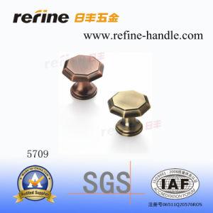 Bouton en alliage de zinc de Cabinet de matériel (Z-5709)